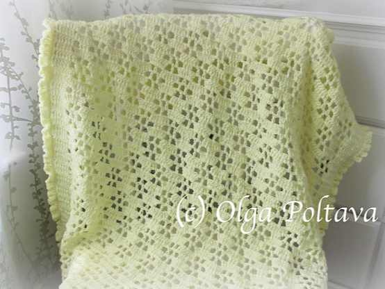 Buttercups Baby Blanket