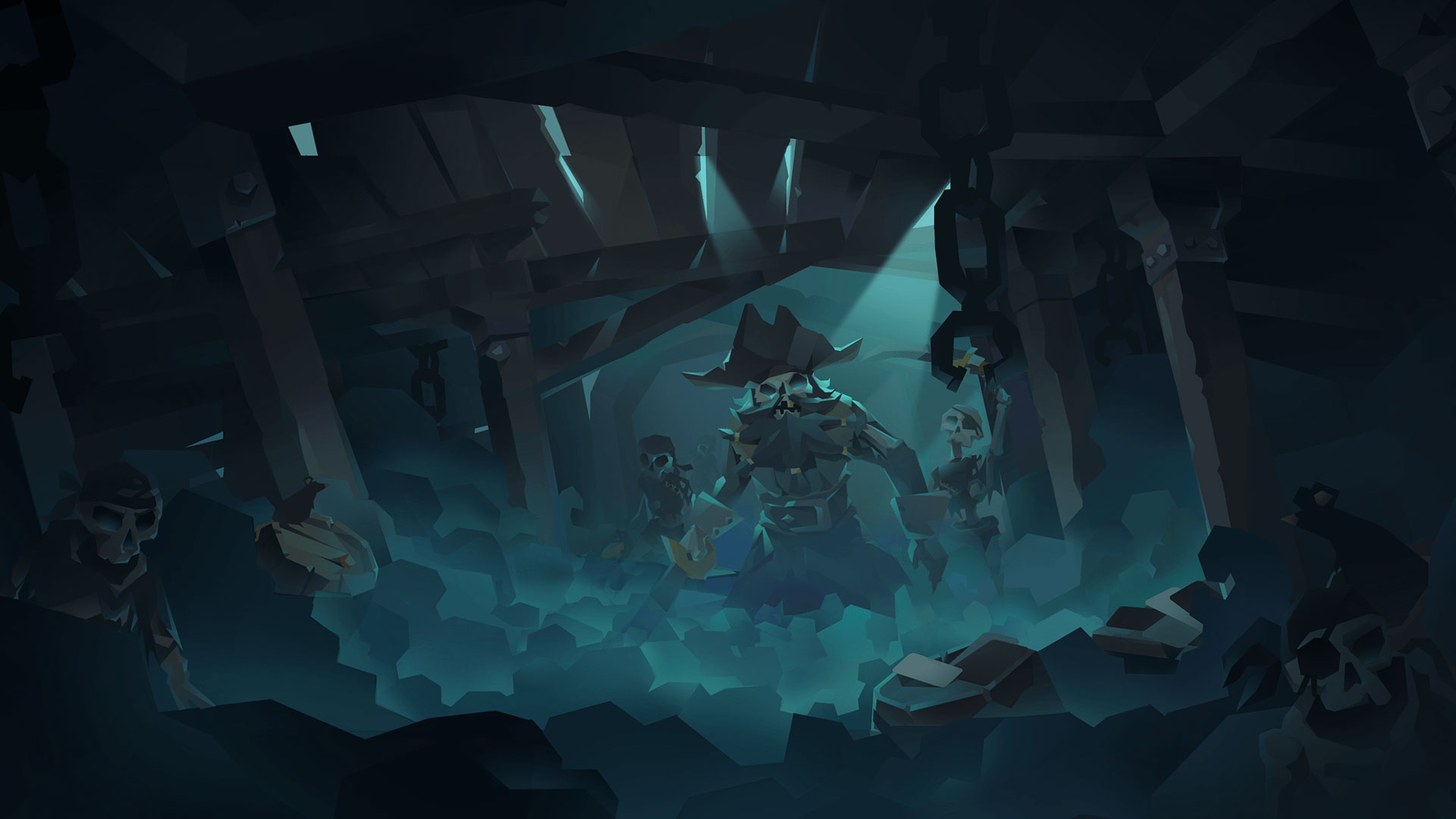 SKULLS ISLANDS - Stories and legends of Skulls Islands are many and dark. But each of them mentions a relic that can bring the dead back to life!