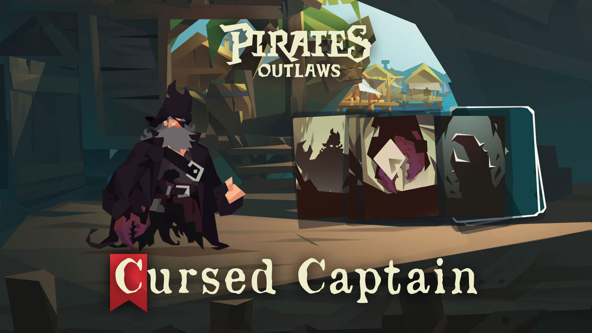 CURSED CAPTAIN - HP 64 | Ammo X3CURSE Gains different and powerful abilities based on number of curses cards in his deck.