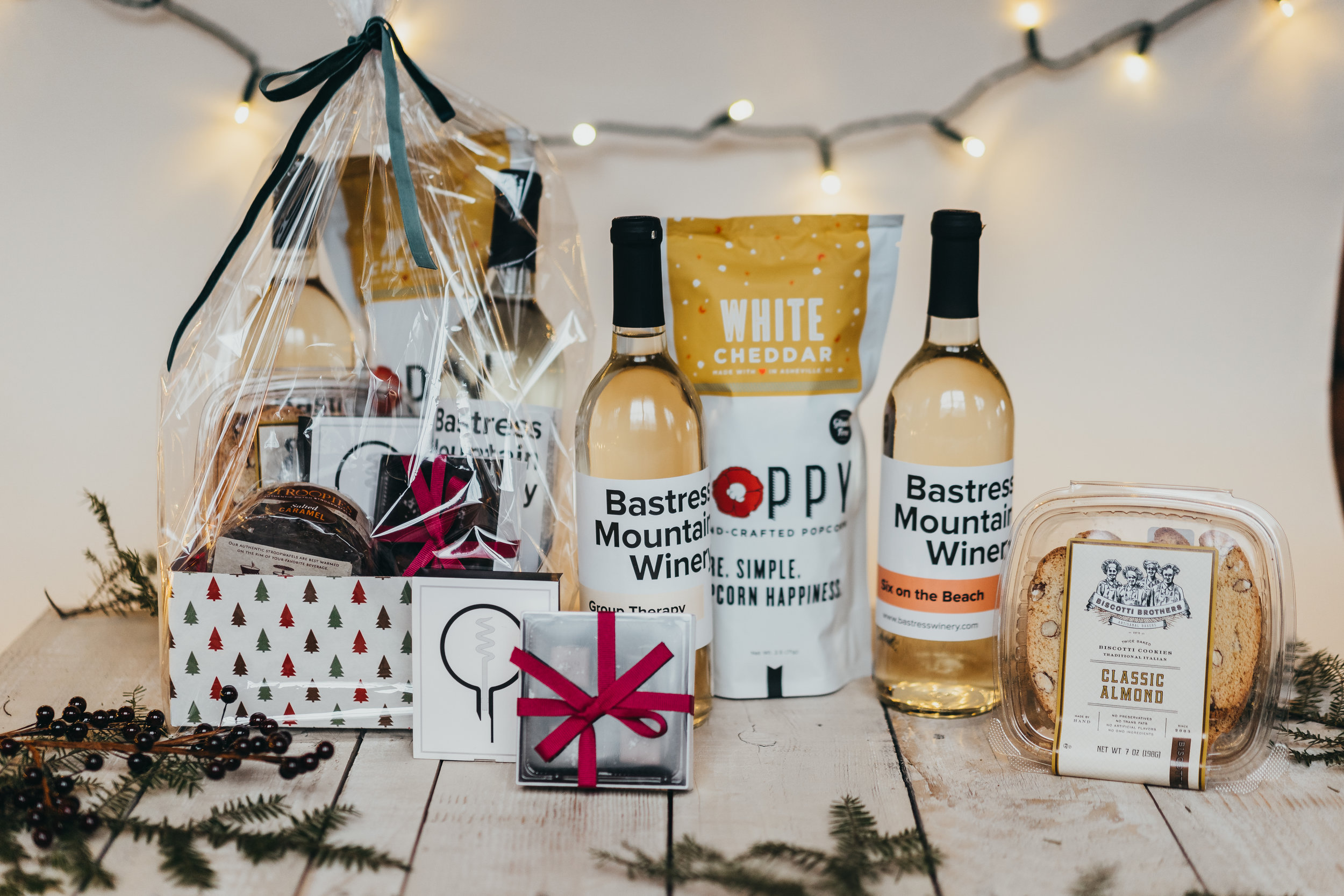 Holiday Gift Boxes from Bastress Winery located outside of Williamsport in Central PA