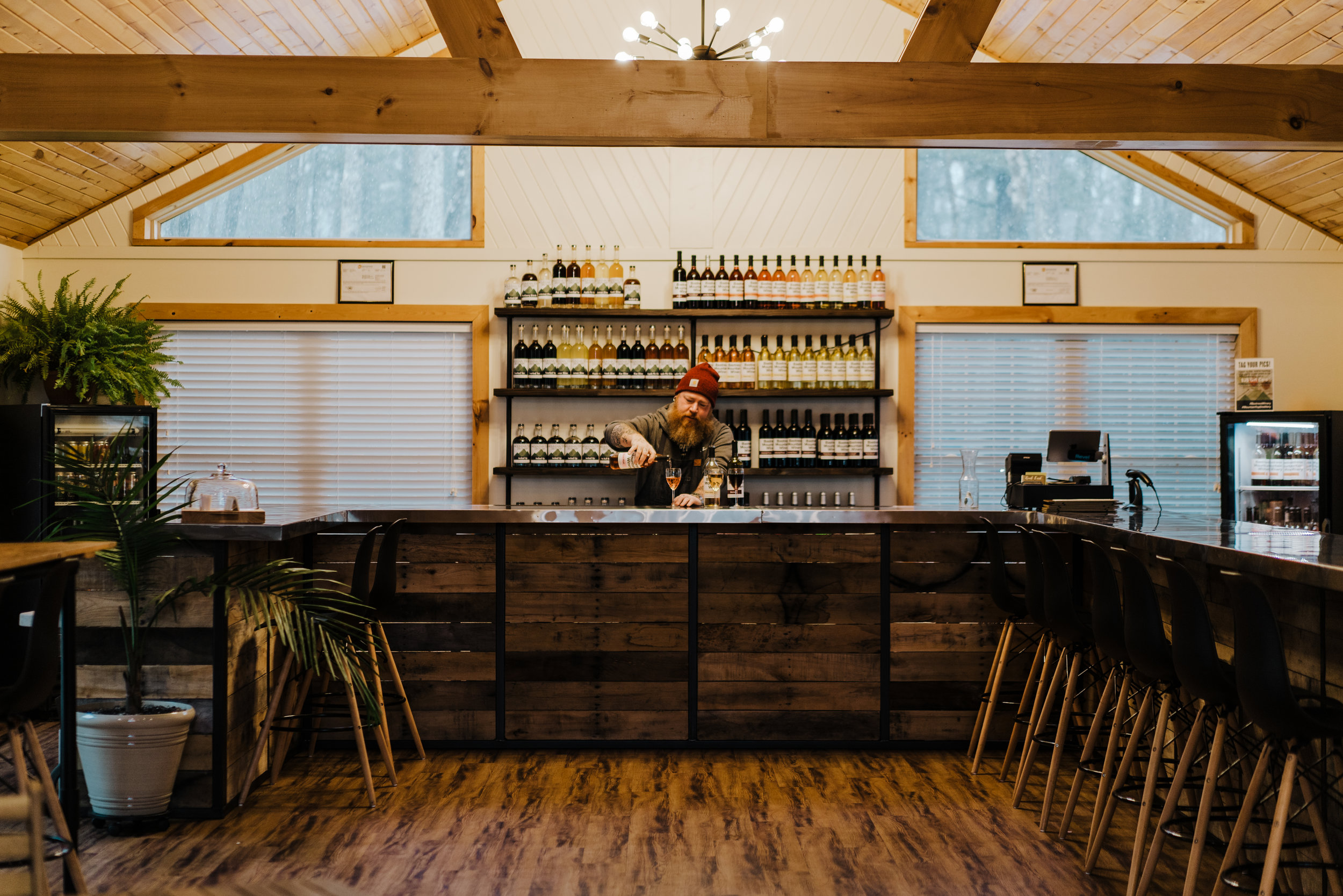 Bastress Winery and Mountain Top Distillery located outside of Williamsport on the way to Jersey Shore make sure to check out their retail shop