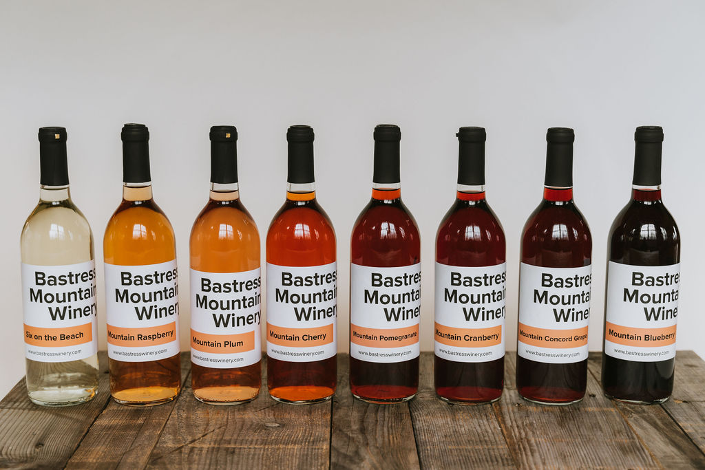 Bastress Winery located outside of Williamsport Pennsylvania in Central PA carries a variety of fruit wines as well as dry