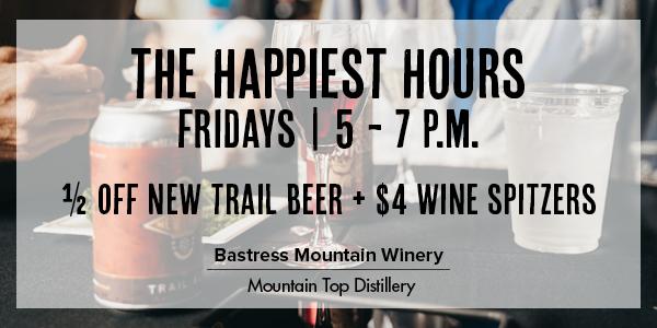 Winery Happy Hour Discounts Williamsport Pennsylvania Wednesday Thursday Friday