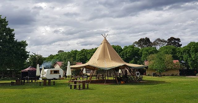 @meetgertrude and a giant tipi. What more do you need.... - - Tipi - @tipi_tipi_