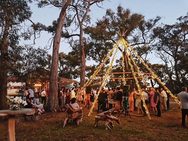 Magic under our tipi on Saturday night ✨