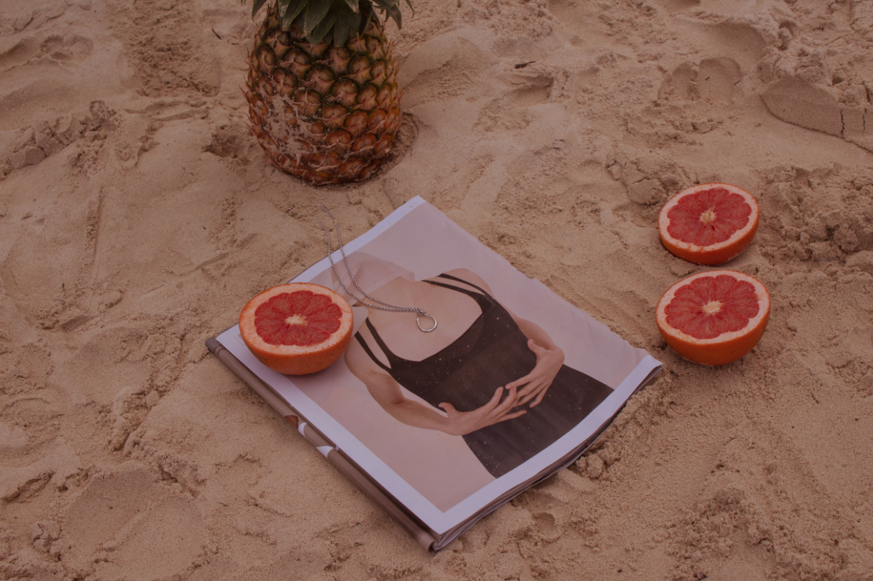Brand Photography | Beautiful Horse Jewelry | Fruit On The Beach 2