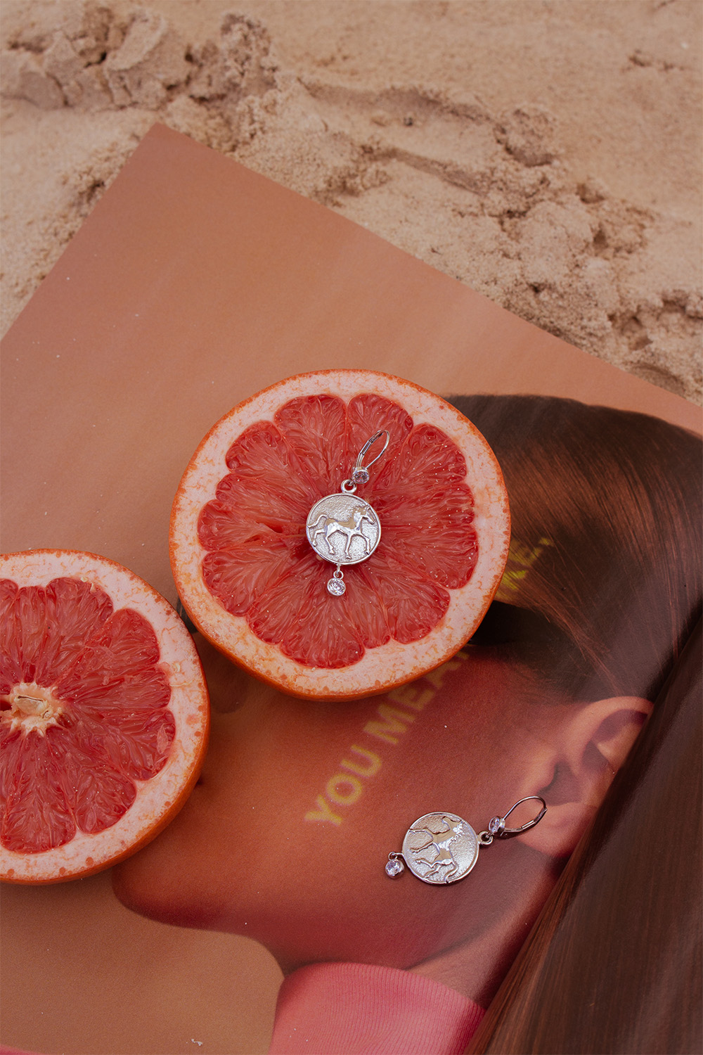 Brand Photography | Beautiful Horse Jewelry | Fruit On The Beach 1