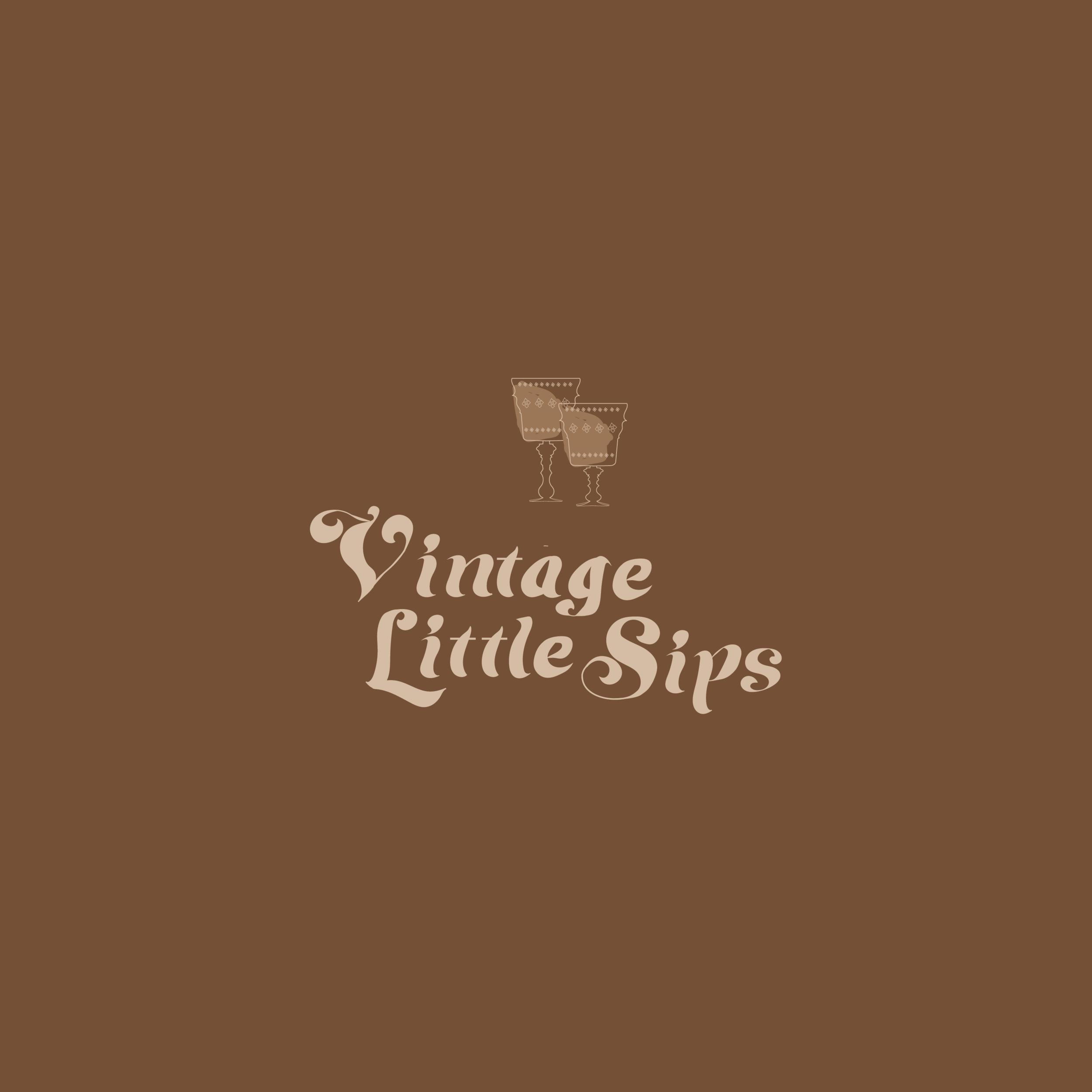 Branding | Logo | Vintage Little Sips