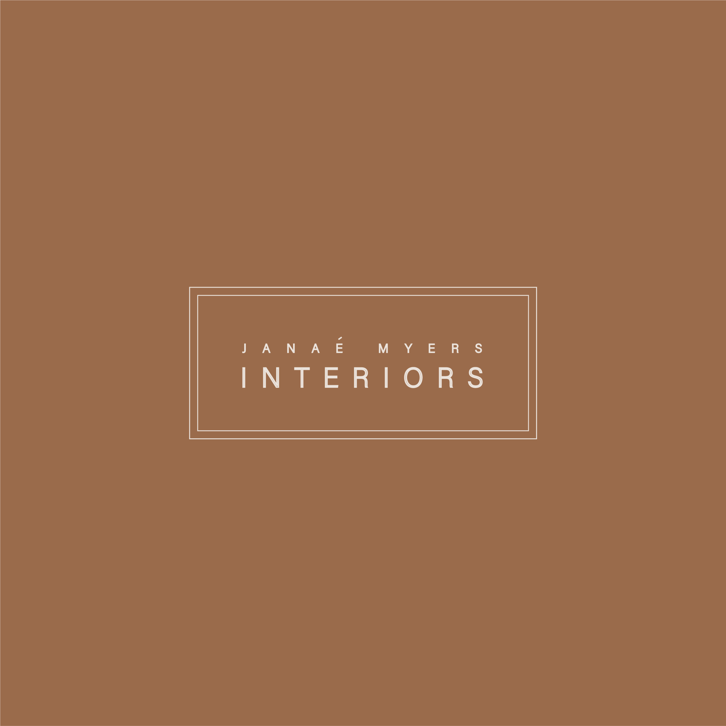 Branding | Logo | Janae Myers Interiors