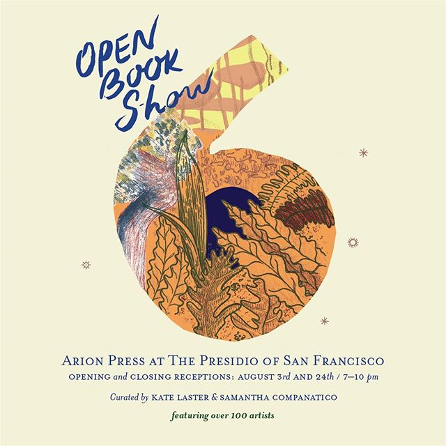My work is a part of Open Book Show 6 curated by incredible @howlingmoondog and Samantha Companatico. Please join us this Saturday, Aug 3rd for the opening reception from 7-10 pm @arionpress . #bookart #openbookshow #sfaialumni #artvisual #sculpturalinstallation