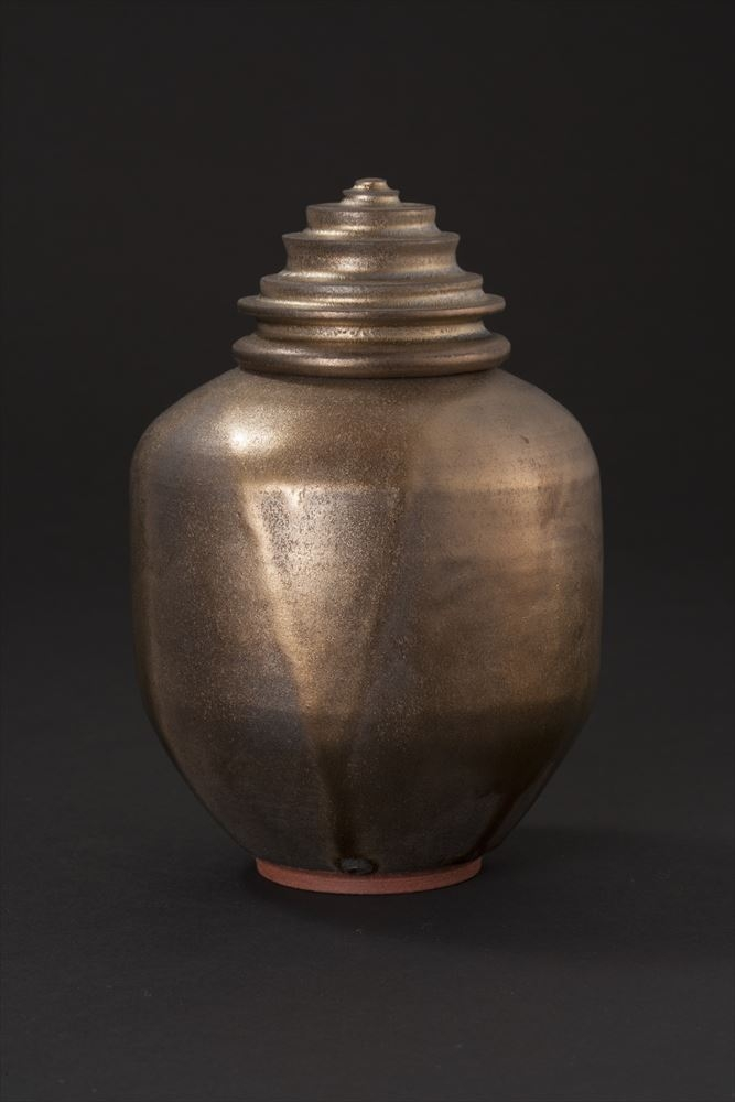 LUSTER COVERED JAR - 17CM X 11CM.jpg