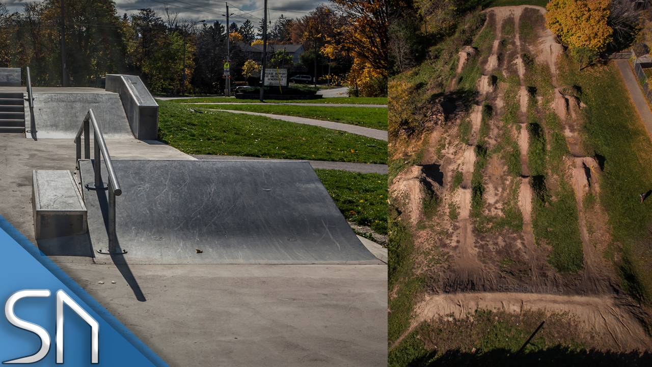 BURLINGTON - NELSON PLAZA & DIRT JUMPS -