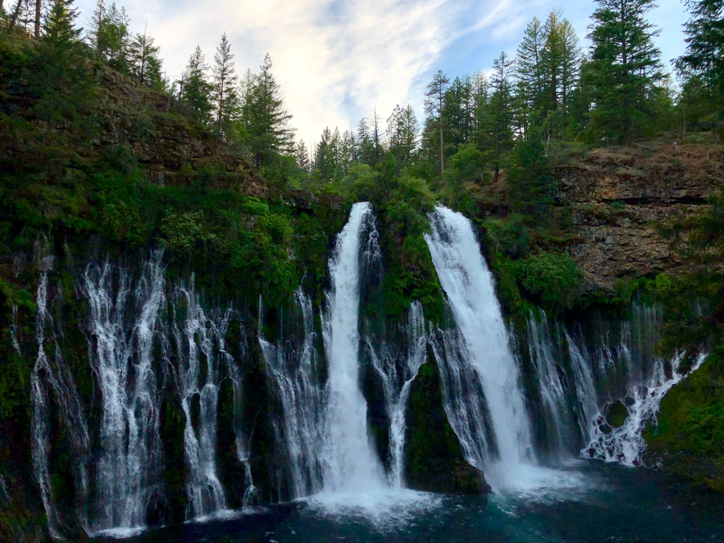McArthur Burney State Park - just over one hour from Redding, CA.