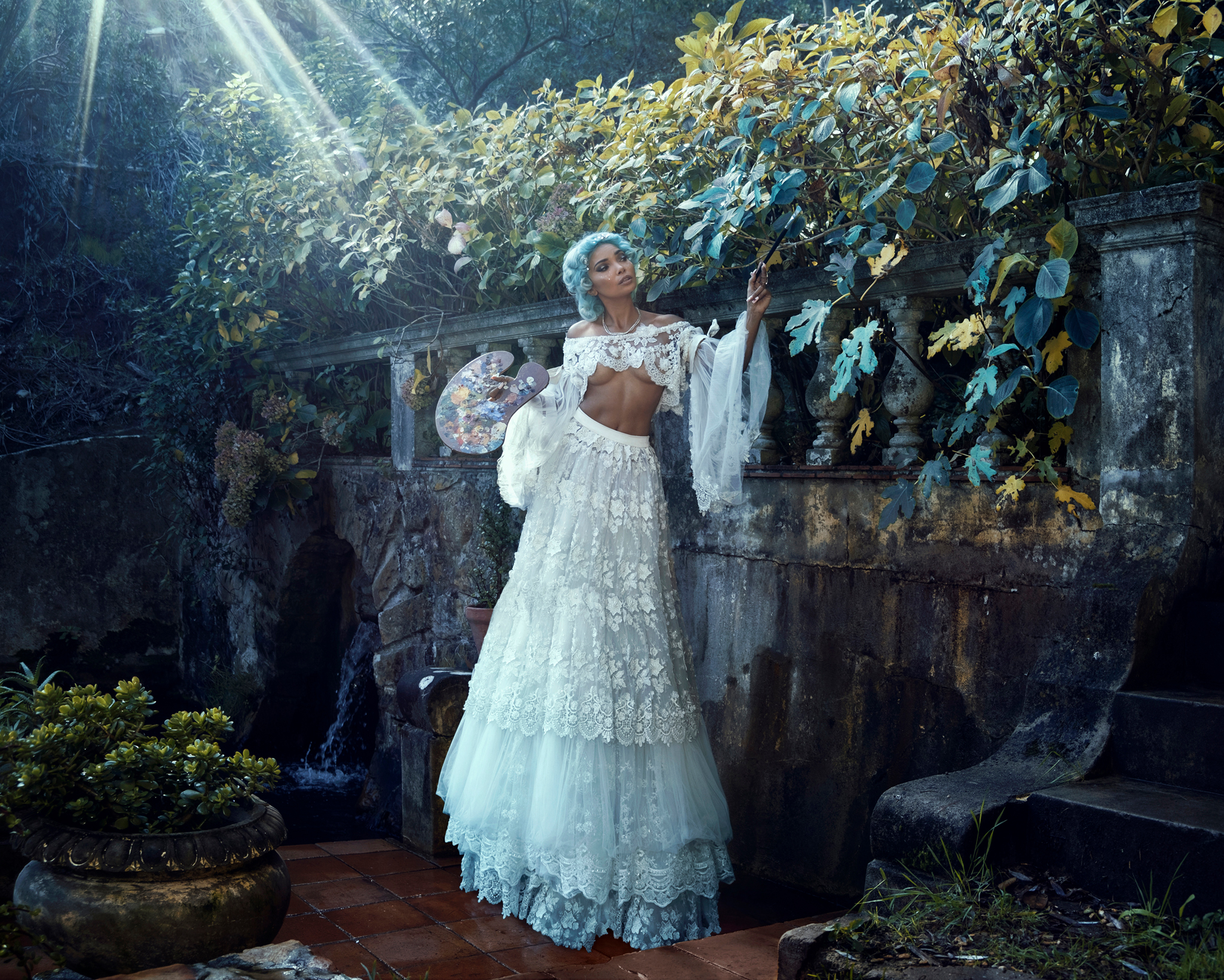 Photographer:  Ashley Marie   Production, Styling and Modeling:  Tracy-Lee Rosslind  Location: Camps Bay Retreat, Cape Town