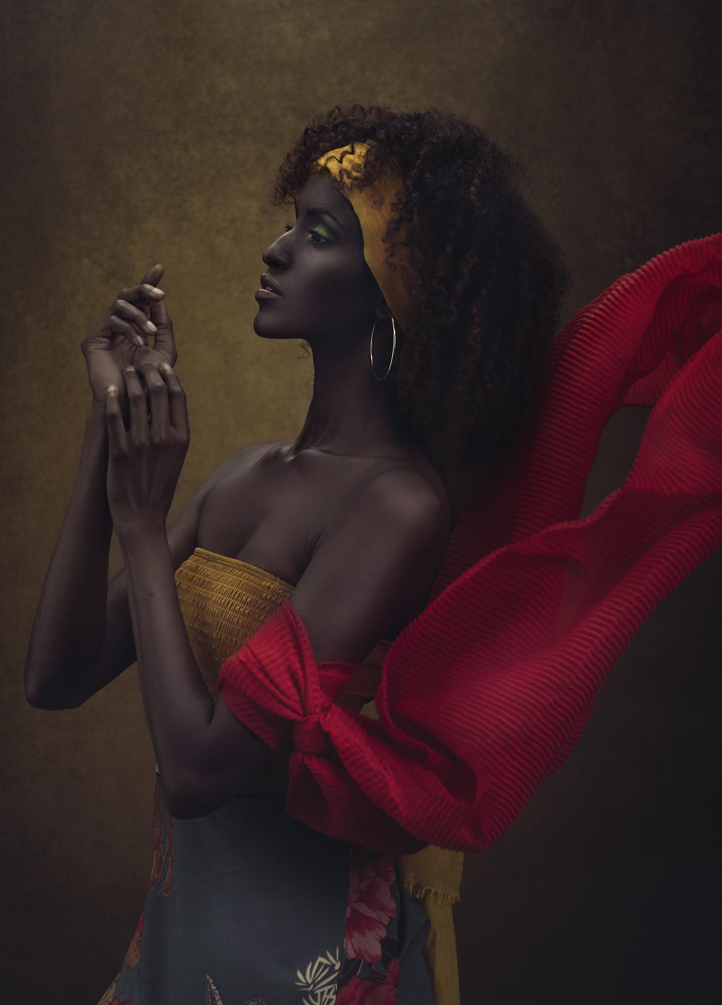 Photographer:  SJ Van Zyl  Model:  Amina  Makeup & Styling:  Carissa Bosman