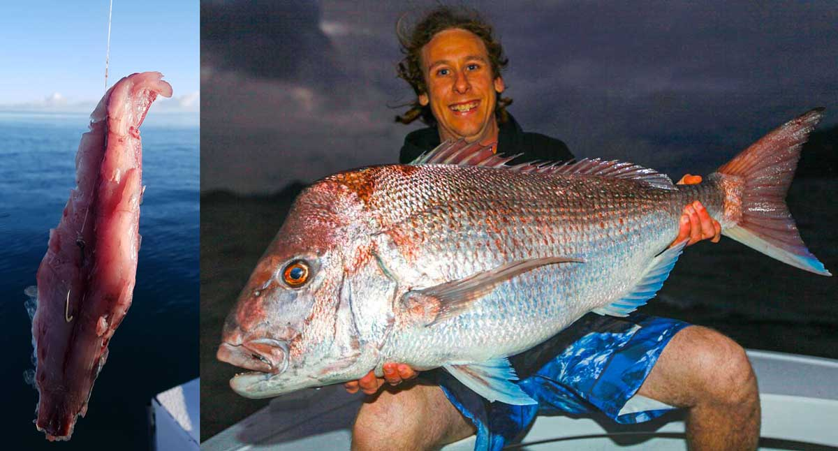The author, Paul Lennon, with a 14.6kg NSW record red caught in less than 10m of water.