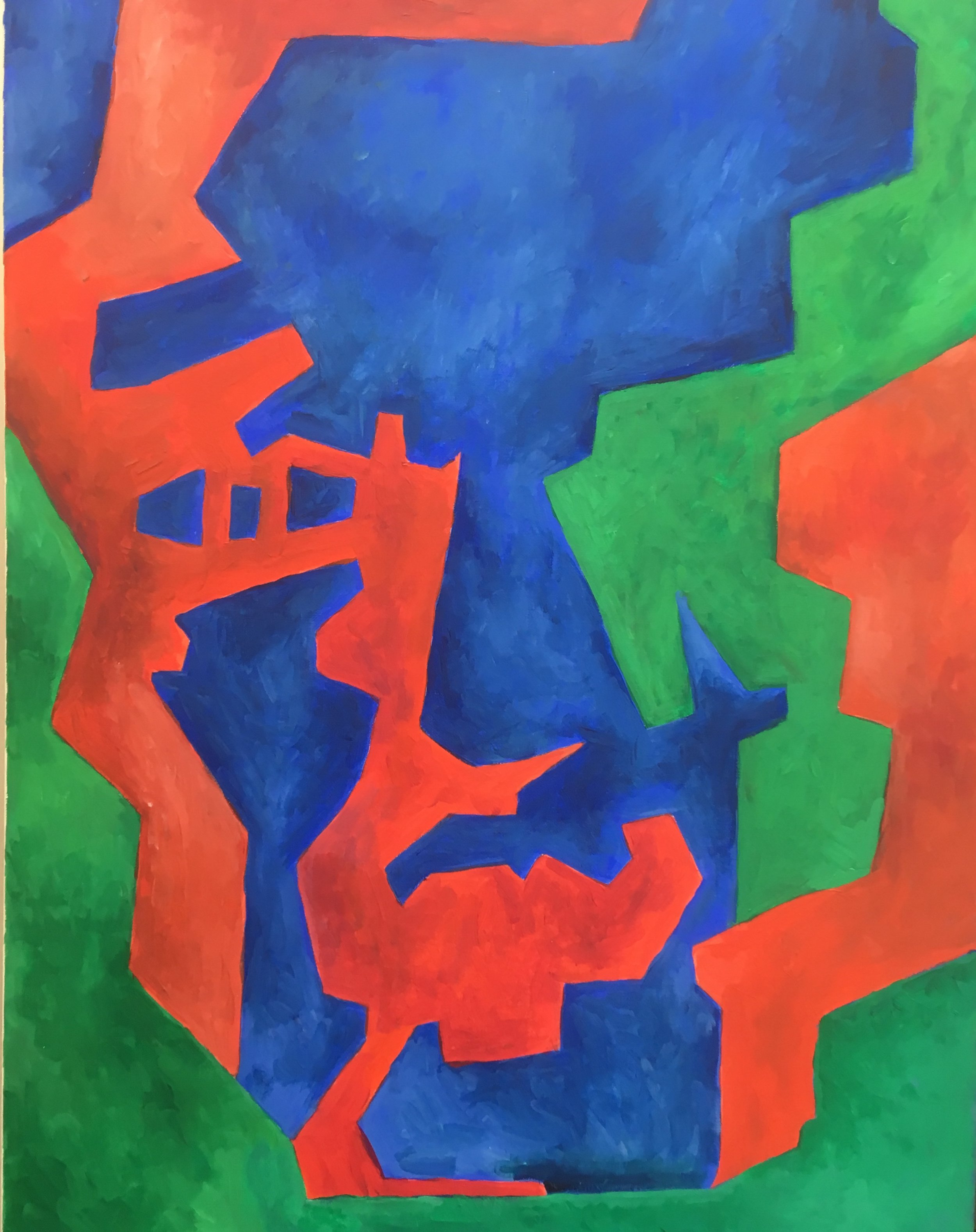 self portrait drift  acrylic on canvas  £950  60 by 80 by 1.5 cm  unframed