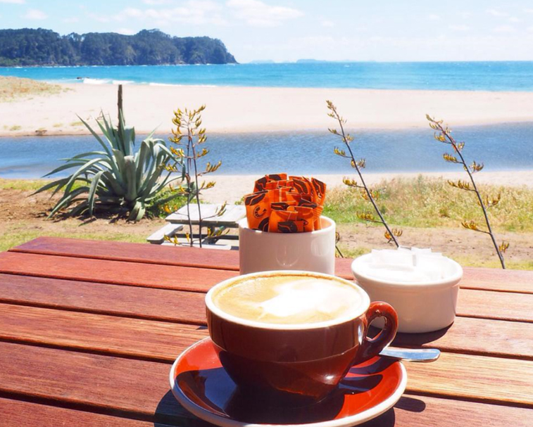 HOTTIES CAFE   29 Pye Pl, Hot Water Beach   Epic views over Hot Water Beach