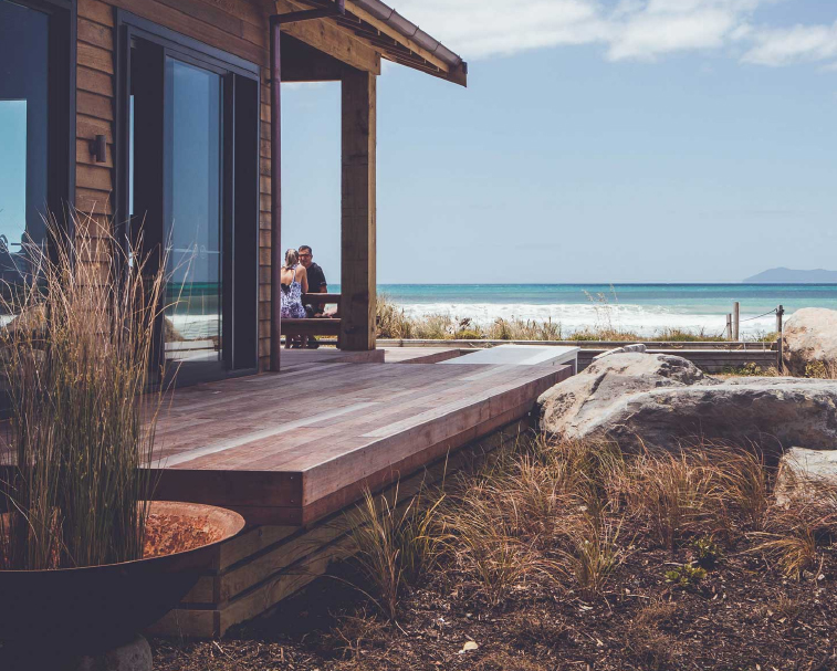 FLATWHITE CAFE   21 Shaw Rd, Waihi Beach   A stunning beach front location just a short stroll from the holiday park.