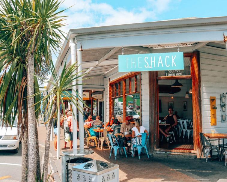 THE SHACK   19 Bow St, Raglan   The best breakfast/brunch in Raglan.