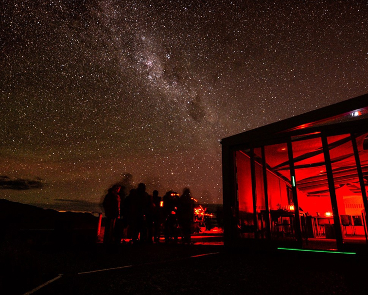 EARTH & SKY STAR GAZING TOUR   Western car park beside the 4 Square supermarket, Lake Tekapo   Fantastic!