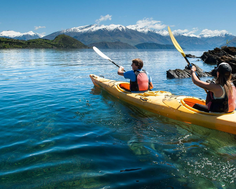 KAYAKING ON THE LAKE   151-153 Ardmore St, Wanaka   A fun activity.