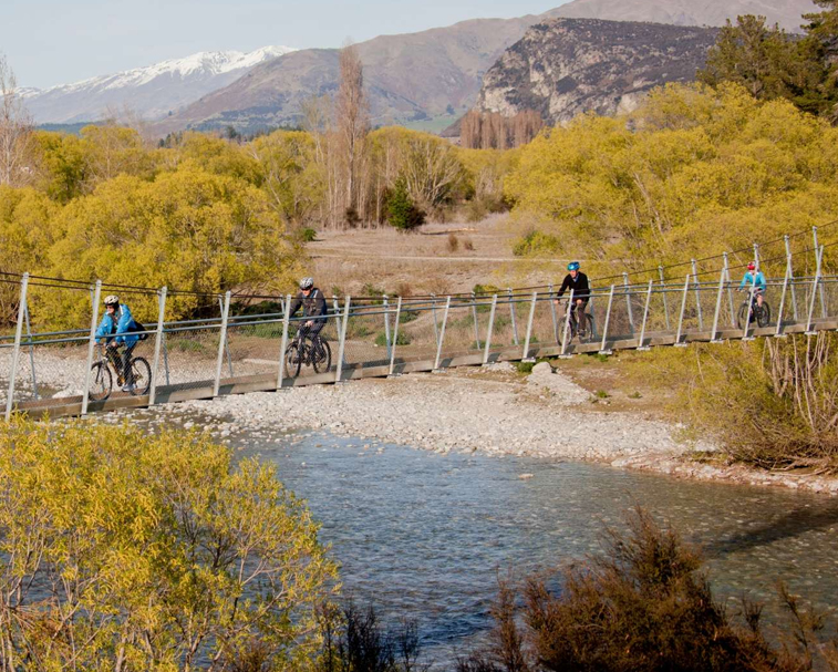 BIKE THE CYCLE WAYS   Over 750km of mountain biking tracks to enjoy around Wanaka.