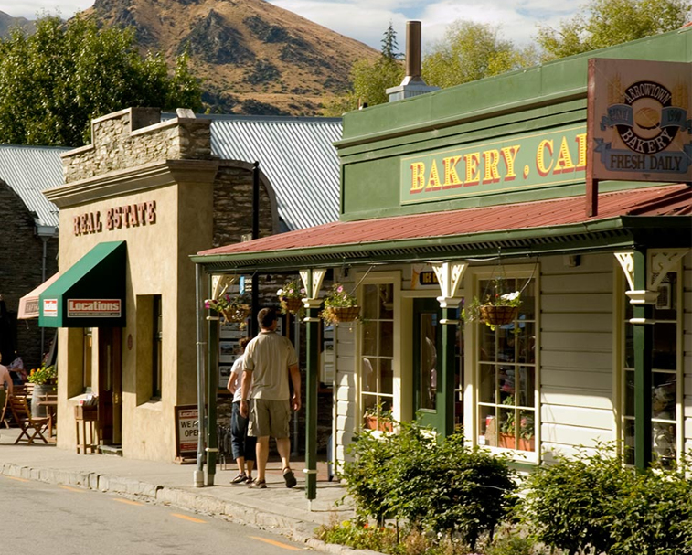 ARROWTOWN BAKERY   1 Buckingham St, Arrowtown   Visit the famous Arrowtown Bakery (get in early to avoid the queues).
