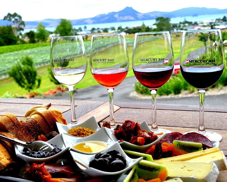 Mercury Bay Estate   761 Purangi Rd, Cooks Beach, Whitianga   A boutique Winery & Restaurant located at Cooks Beach over looking the beautiful Mercury Bay.