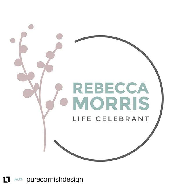 #Repost @purecornishdesign • • • • • • New Logo designed for 'Rebecca Morris Life Celebrant' 🙃🙌🏼 Rebecca offers a fantastic range of ceremonies for couples, individuals and families, including; weddings, funerals, vow renewals, naming ceremonies and more! She needed a beautiful, elegant and contemporary new Logo to reflect the meaningful nature of her work. We are both really pleased with the result! 🙂🎨 #graphicdesign #design #logo #branding #illustration #life #celebrant #cornwall #cornish #ceremonies #weddings #funerals #vowrenewals #namingceremonies #couples #families