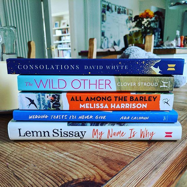 #tbrpile #bookstagrammers #bookstack #igreads #bookstoread #booksonbooksonbooks #celebrant #cornwallcelebrant #modernweddings #modernfunerals