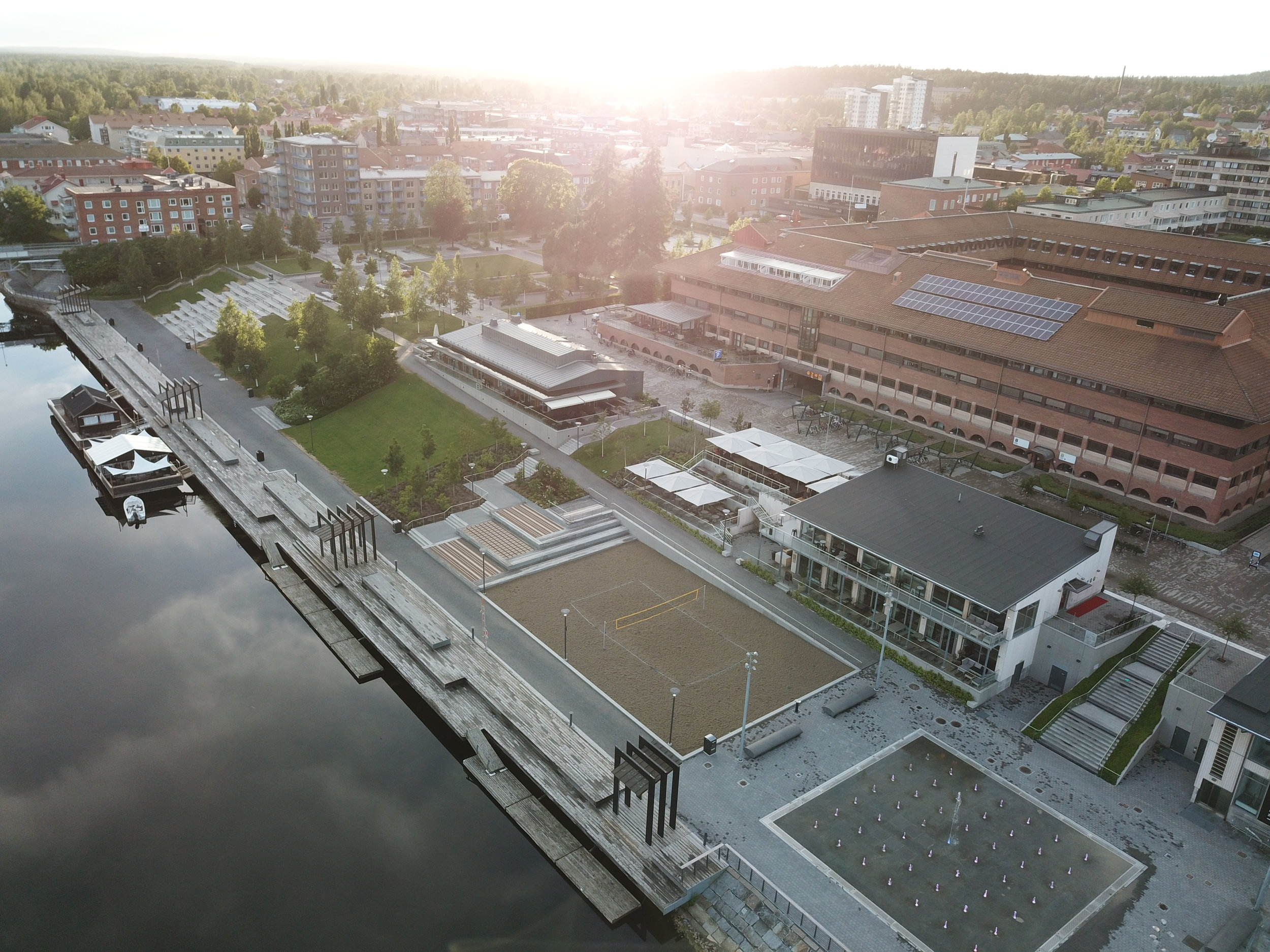 Drone photography. Real estate project - Norway