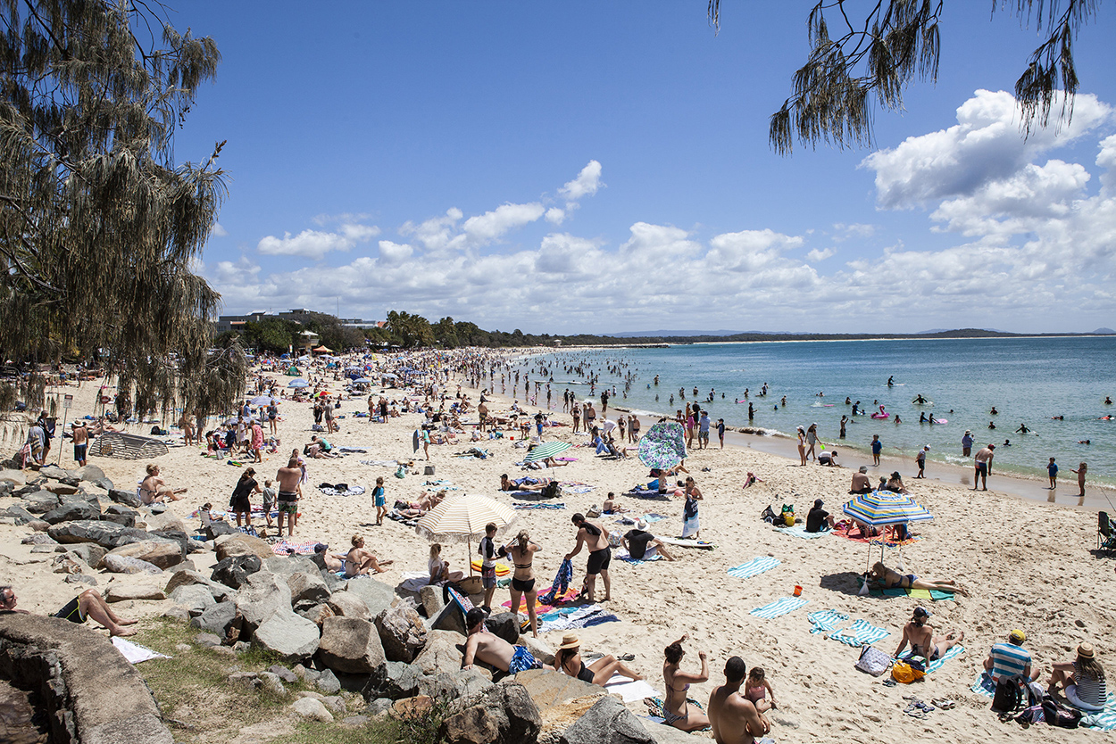 Noosa Main Beach - Springbreak