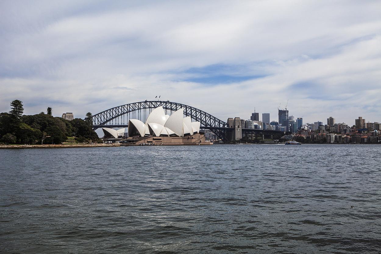Sista destinationen i Australien - vårt slutmål. Sydney!