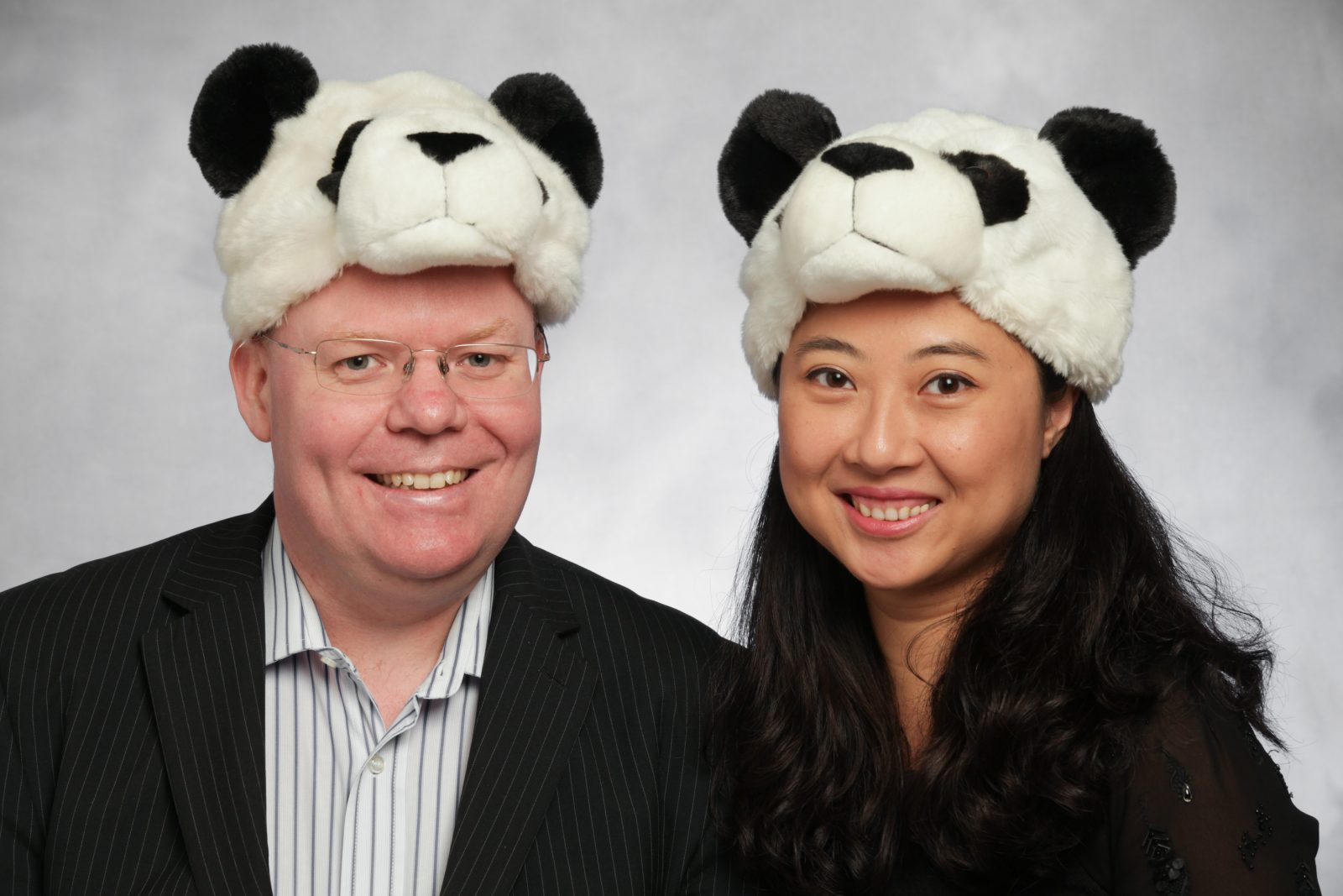 Entrepreneurial husband-and-wife team Julie Chen and Chris Forbes who founded Cheeky Panda.  Photo credit: Business Leader Magazine