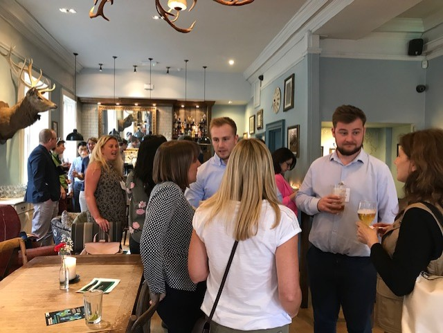 Informal STBAH networking event gives everyone a chance to chat and network in a relaxed friendly environment.