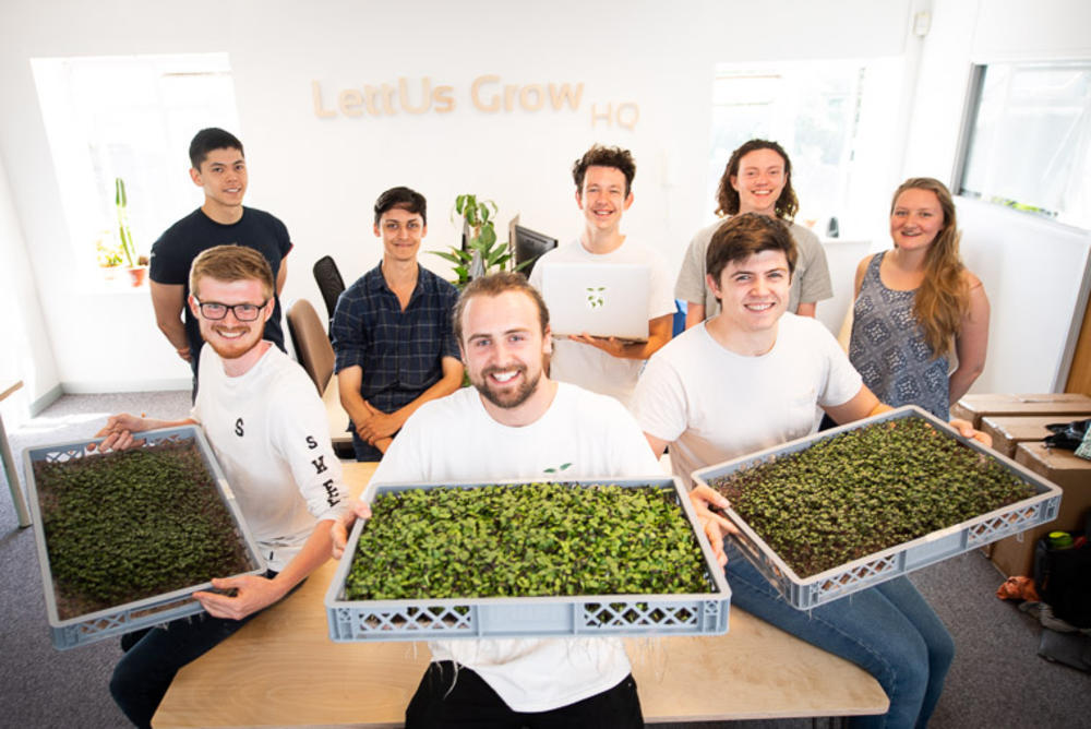 lettus grow - leading the way in the agri-tech industry