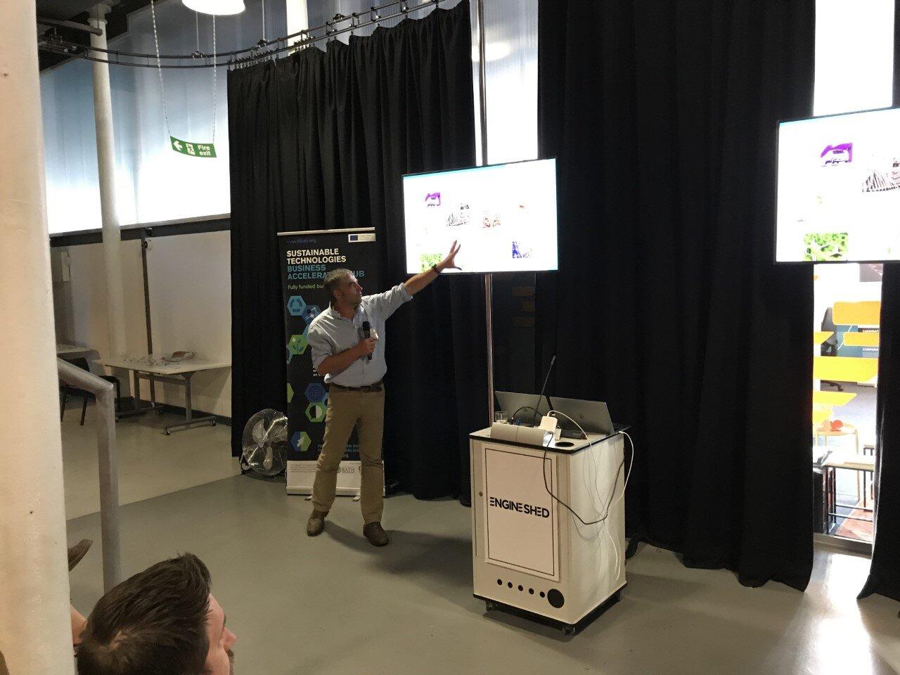 Professor Matthew Davidson, CSCT, University of Bath presents on Bio-Based Plastics and the circular economy