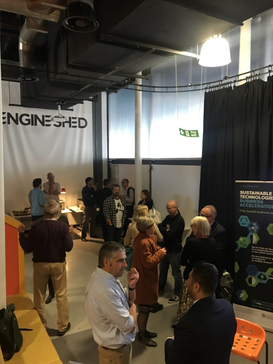 A chance to networking with speakers and attendees at the STBAH Regenerate Natural Systems event