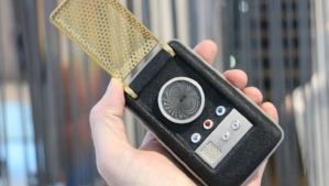 A Star Trek communicator is small and clever