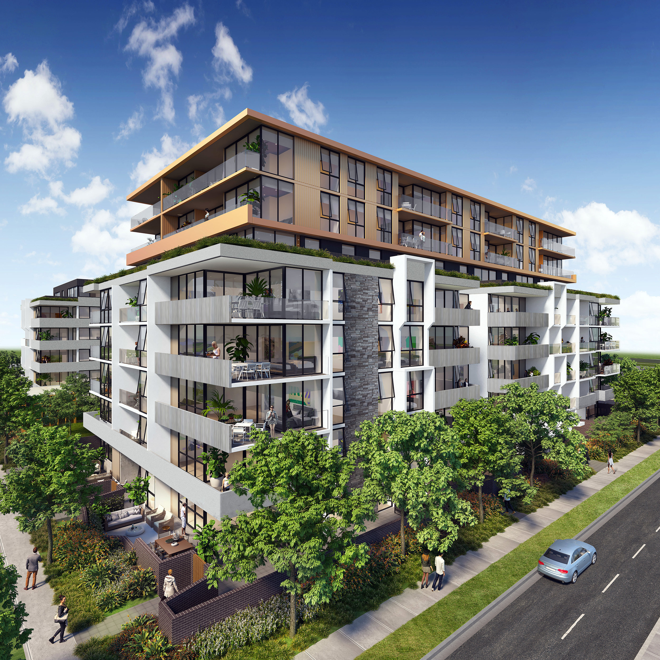 Pagewood Green - Dahlia - Dahlia, the second stage release within the Pagewood Green master-planned community.