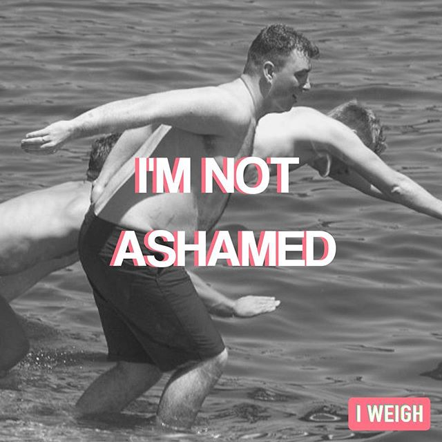 Campaign 'I'm not Ashamed' that we created for @i_weigh in response to the Sam Smith interview. The idea was that people can show the media that they will not be shamed by society's beauty standards and toxic fat shaming culture. Jetpack thought up the idea, graphic creation and social media management, which then promoted 100's of community members sending in their own 'I'm not ashamed' posts through a downloadable template. #iweigh #imnotashamed #socialmediamanagement