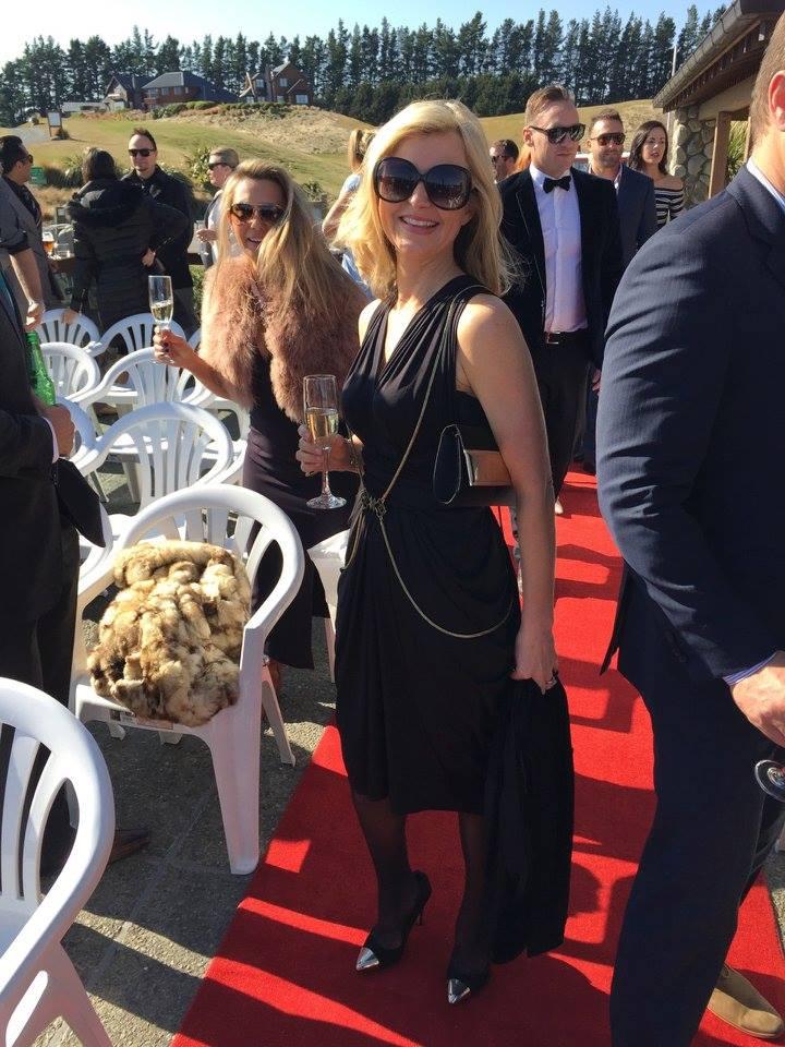 Gorgie wrap dress