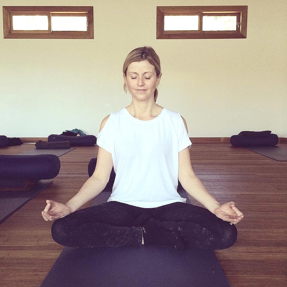 Meditation after a beautiful yoga practice at the Billabong Retreat.