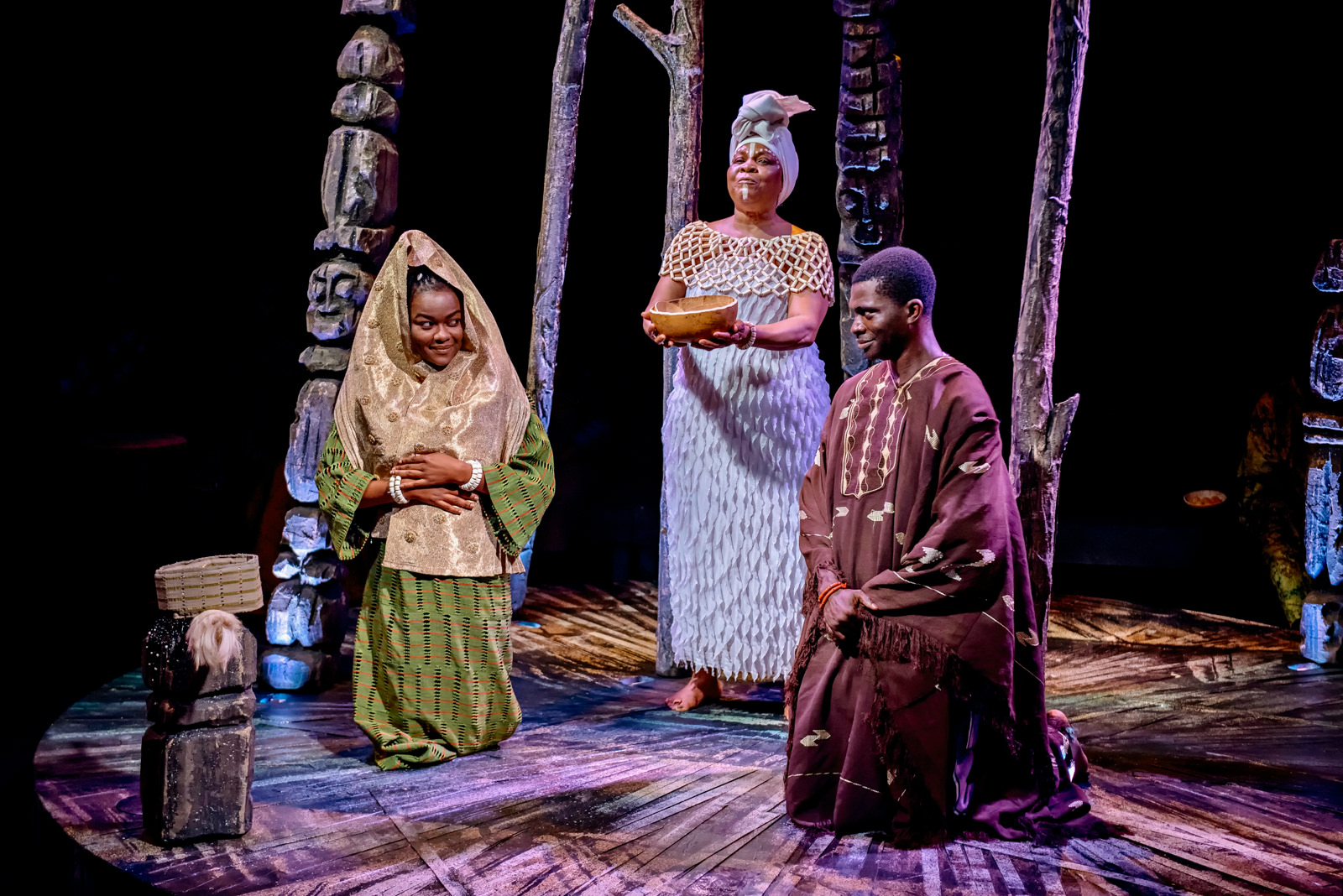 The Duchess Of Malfi (Iyalode of Eti) - A unique West African transposition of one of the greatest dramas ever written, John Webster's The Duchess of Malfi.The recently widowed Iyalode, a young, beautiful chief longs to marry her low-born lover, Oguntade. Her brothers vehemently forbid it, but Iyalode secretly marries and gives birth. If the brothers discover the deceit, a trail or torture, torment, betrayal and murder could follow…