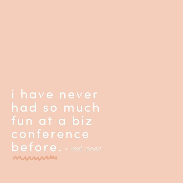 Not your standard conference 😉 This conference is a must attend, so go grab your ticket while you still can! #letsconference ⠀ ⠀ .⠀⠀⠀⠀⠀⠀ .⠀⠀⠀⠀⠀⠀⠀⠀⠀ . ⠀⠀⠀⠀⠀⠀⠀⠀⠀ #womensconference #atlantaconference #atlgirlgang #yoursocialteam #theeverygirl #chooselovely #whyiloveatl #pursuepretty #atlgirlboss #discoveratlanta #discoveratl #thehappynow #flashesofdelight #amblifeiscolorful⠀