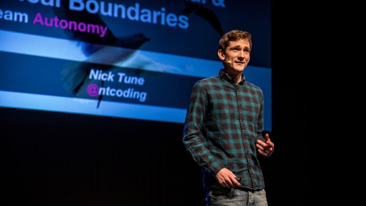 Nick Tune -  @ntcoding