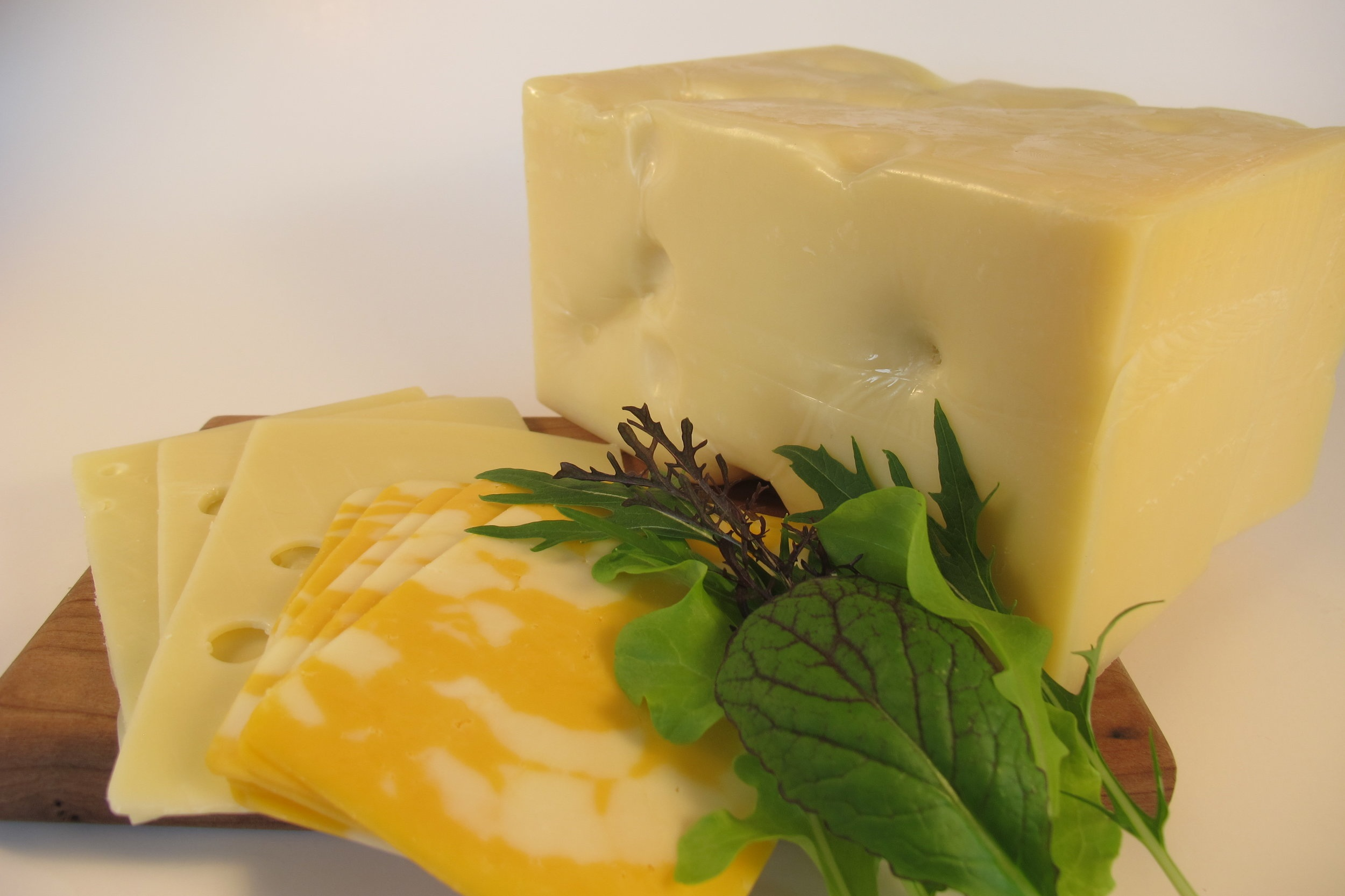 Cheese - Locally sourced cheeses sliced or available by the block