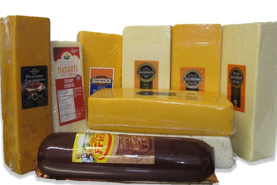 Cheese - Balderson, Bright, Ivanhoe to mention a few names