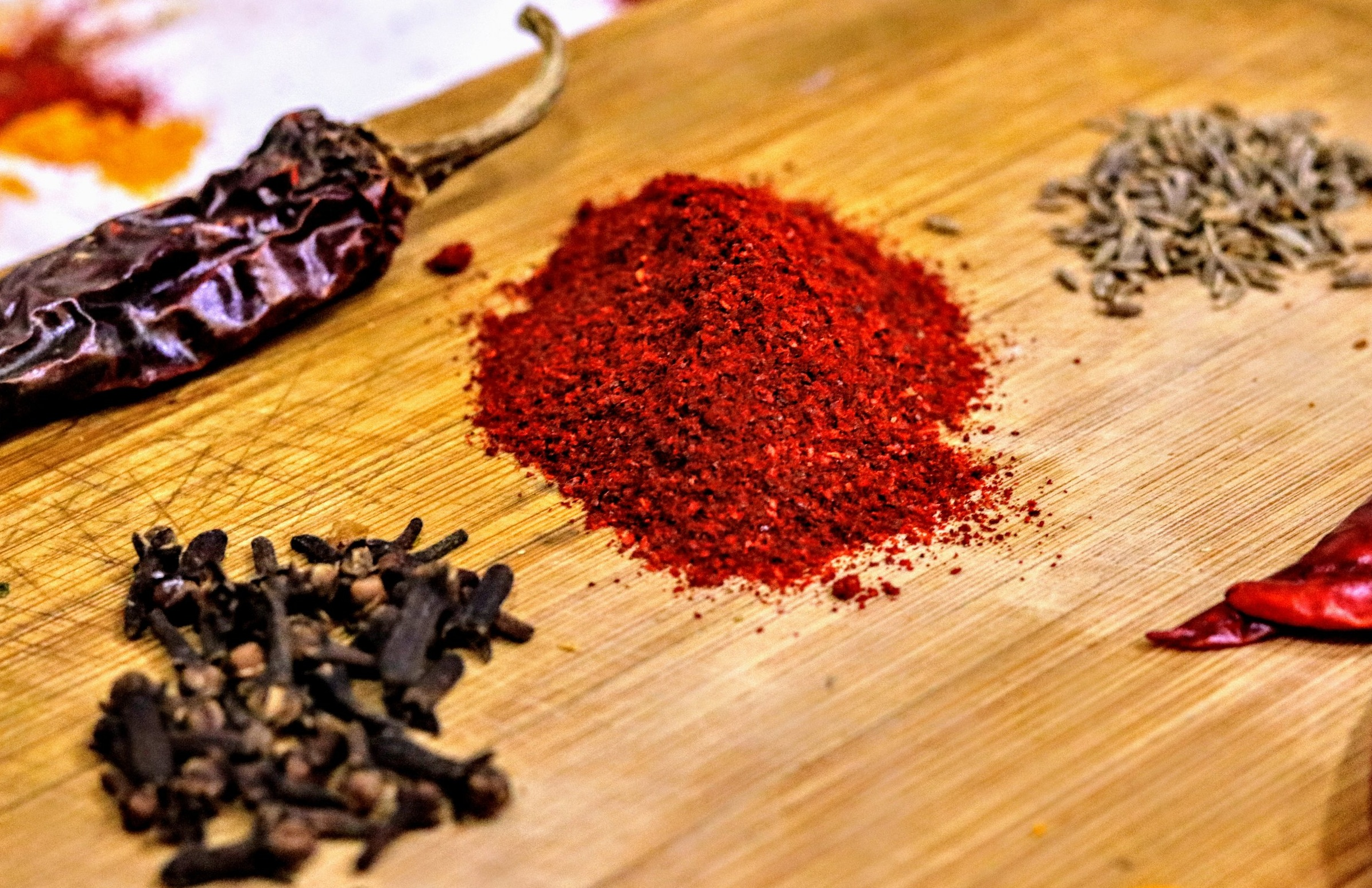 Quality spices -